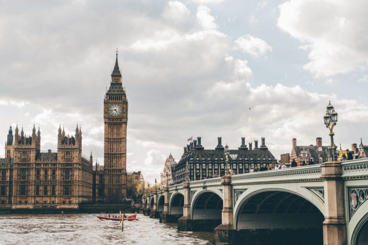 イギリス、ロンドンの風景