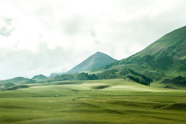 広大な山々と農地