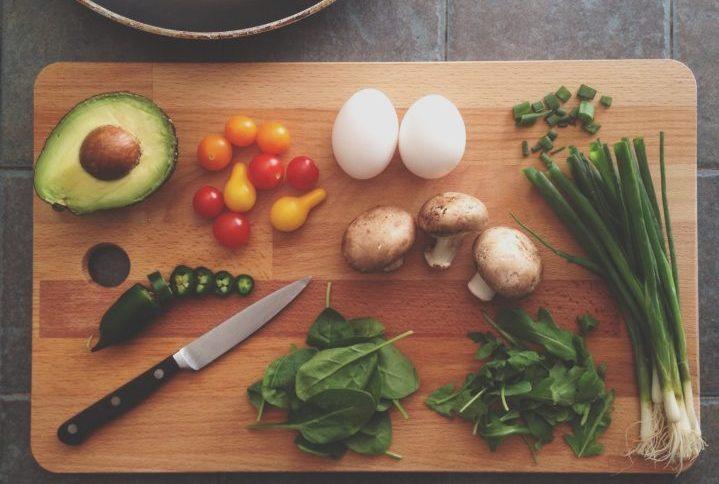 ベジタリアンの料理