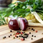野菜を使ったベジタリアン料理