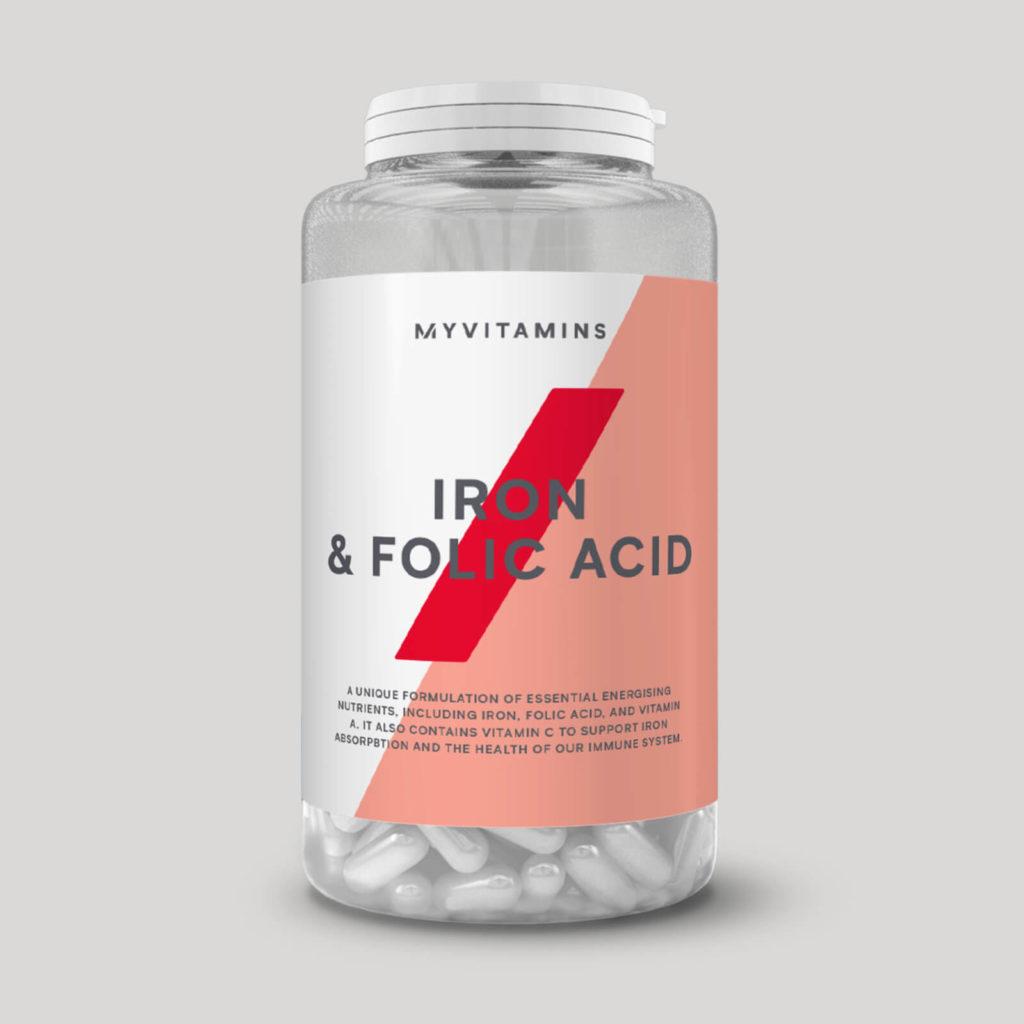 鉄分&葉酸配合のビーガンサプリメント