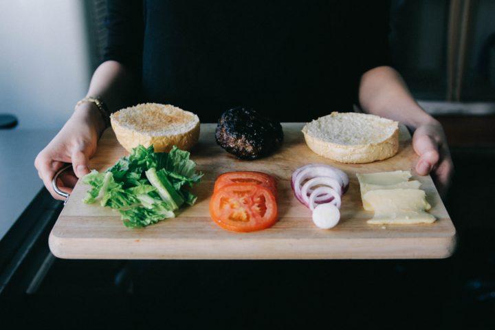 フレキシタリアンでも食べられるハンバーガー