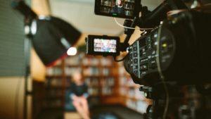 ドキュメンタリーの撮影現場
